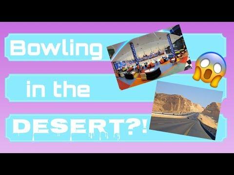 Hala! nag bowling sa disyerto??!!