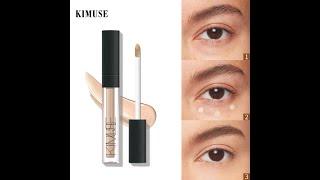 Kimuse 6 цветов корректор тональный крем maquillaje для макияжа глаз от темных кругов жидкий
