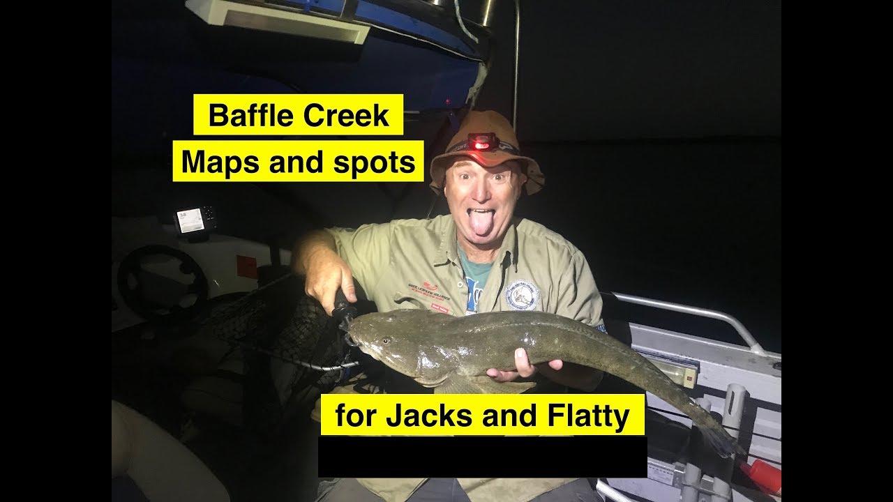 baffle creek  maps and spots  fishing for mangrove jacks