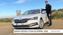 Skoda Superb iV 2020: Plug-in-Hybrid im Review, Test, Fahrbericht
