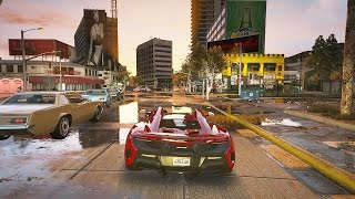 GTA 5 Cars Mod Showcase (REDUX Graphics ENB MOD Gameplay)