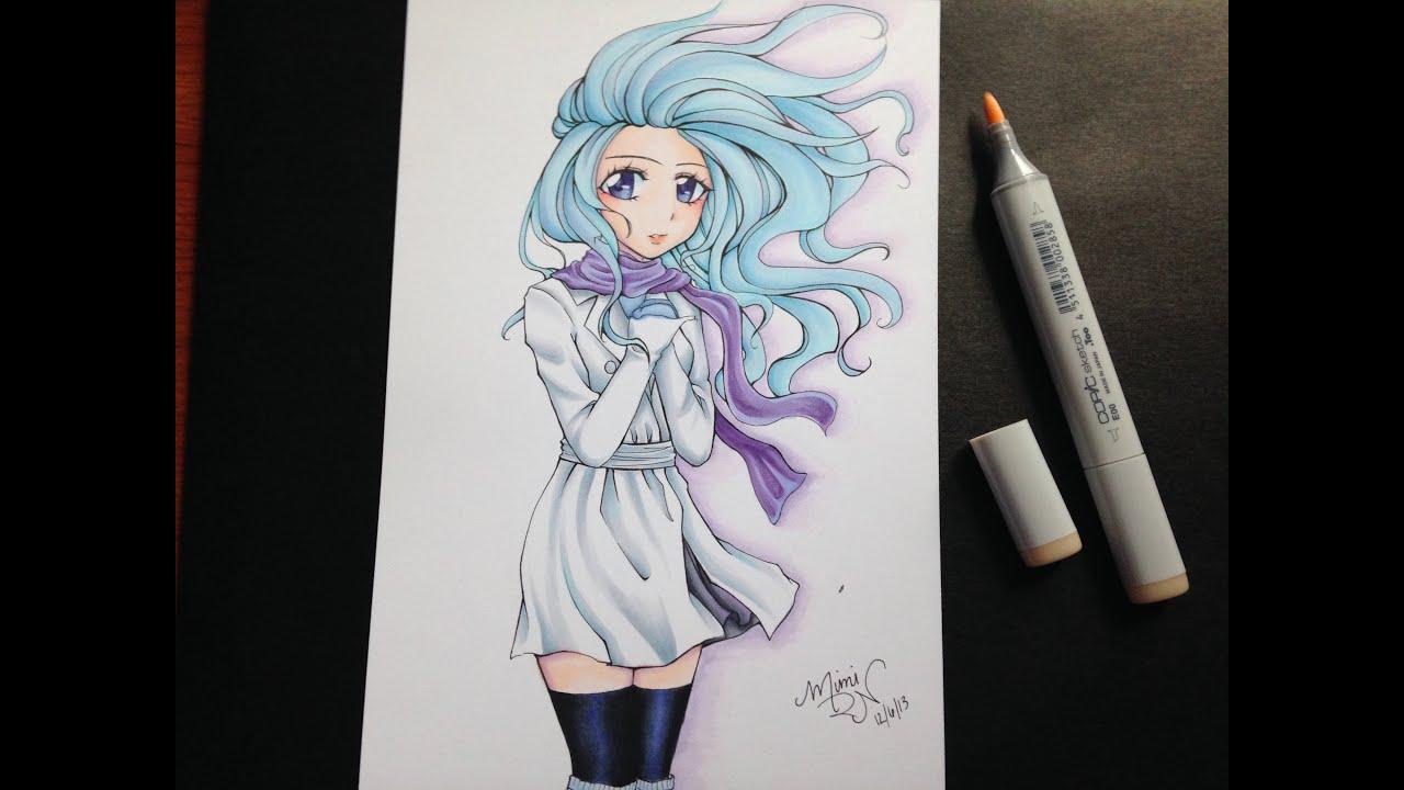 marker drawing wind