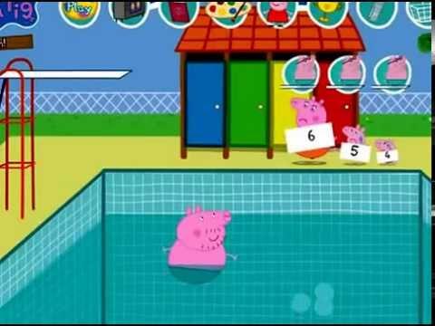 Peppa pig il bagno in piscina youtube - Peppa pig piscina ...