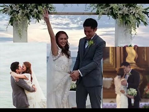 Eight Things To Love About Cesca Litton Tyke Kalaw Wedding - YouTube