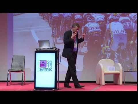 Exposición de Paul Walsh en GPTW Conference Chile 2015