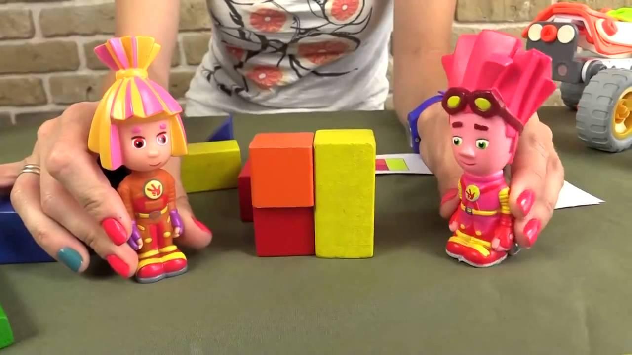 ФИКСИКИ мультик с игрушками  Фиксиклуб  Игра Найди отличия  Фиксики игры