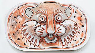 Maskart - African Masks - Masquerade Masks - Cpap Masks - Simple Crafts Mask