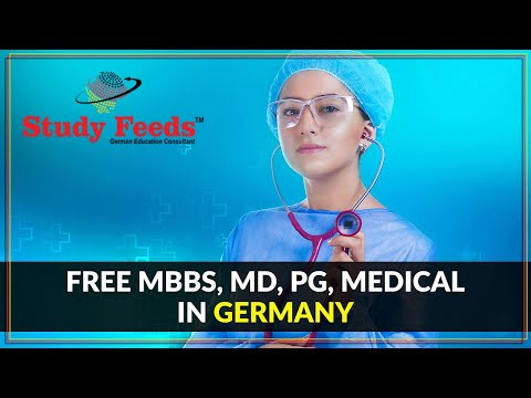 Free MBBS in Germany | MD, MBBS, PG, Medical in Germany