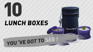 Lunch Boxes, Amazon India Top 10 // The Most Popular 2017