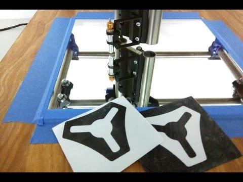 Mostly Printed CNC, Sticker Edition, MPCNC