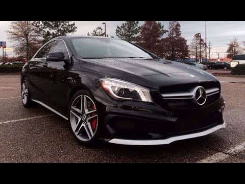 2014 Mercedes Benz CLA 45 AMG Race Start, Exhaust & Light