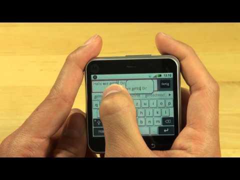 Motorola Flipout Test Bedienung