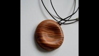 Imitación madera en arcilla polimérica - Polymer clay faux wood