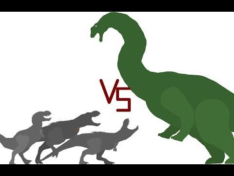 Argentinosaurus Vs Vastatosaurus Rex