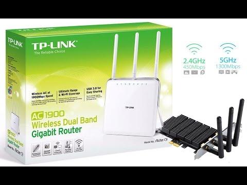 Teste Rede Wireless 802.11AC TP Link Archer C8 + Archer T9E AC1900 Speed Test