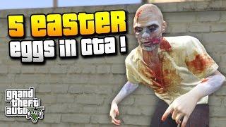 GTA 5 | 5 EASTER EGGS DIE DU VIELLEICHT NOCH NICHT KANNTEST ! | FUSSBALL, ZOMBIE & MEHR | IDzock