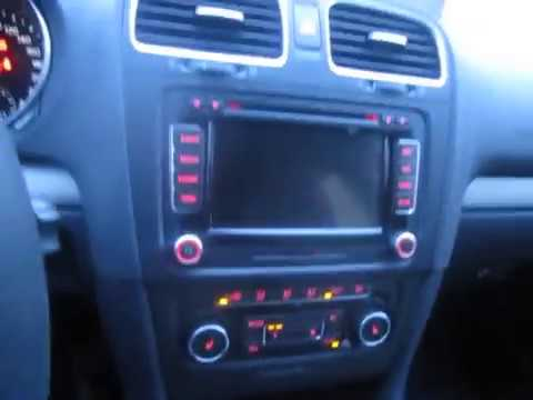 Штатное устройство RNS-510 (на VW Golf, Jetta, Passat, Passat CC, Kaddy, Polo)