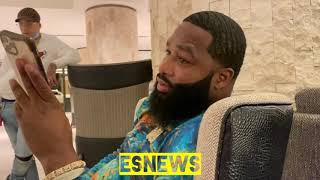 Adrien Broner Reaction To Gervonta Davis KO Over Leo Santa Cruz