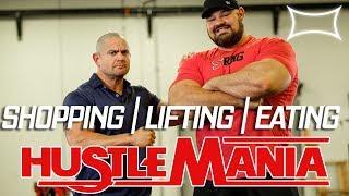 Shopping Lifting Eating with Brian Shaw | Hustlemania 22