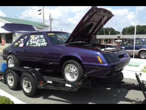 For sale 1986 ford mustang drag car & For sale 1986 ford mustang drag car - YouTube markmcfarlin.com