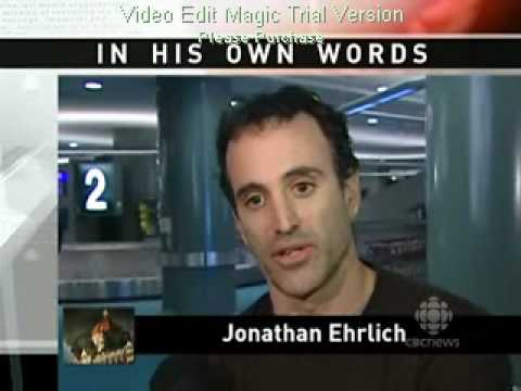 Jonathan Ehrlich CBC interview