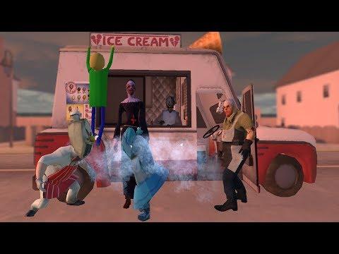Evil Nun Vs Ice Scream Vs Granny Vs Mr.Meat Funny Animation All 10 Parts