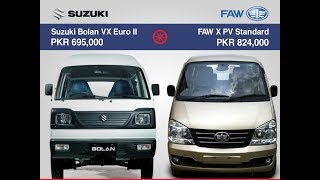 FINAL ANSWER OF SUZUKI BOLAN AND FAW XPV