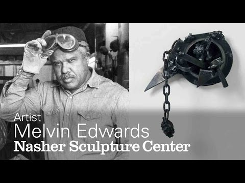 Abstract Art with a Message: Artist Melvin Edwards speaks with Curator Catherine Craft