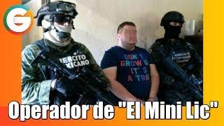 """Cae el """"Moreno 14""""  operador del """"Mini Lic"""" en Sinaloa"""