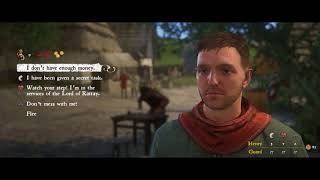 Kingdom Come: Deliverance (PC) - Getting Arrested for Punching A Horse
