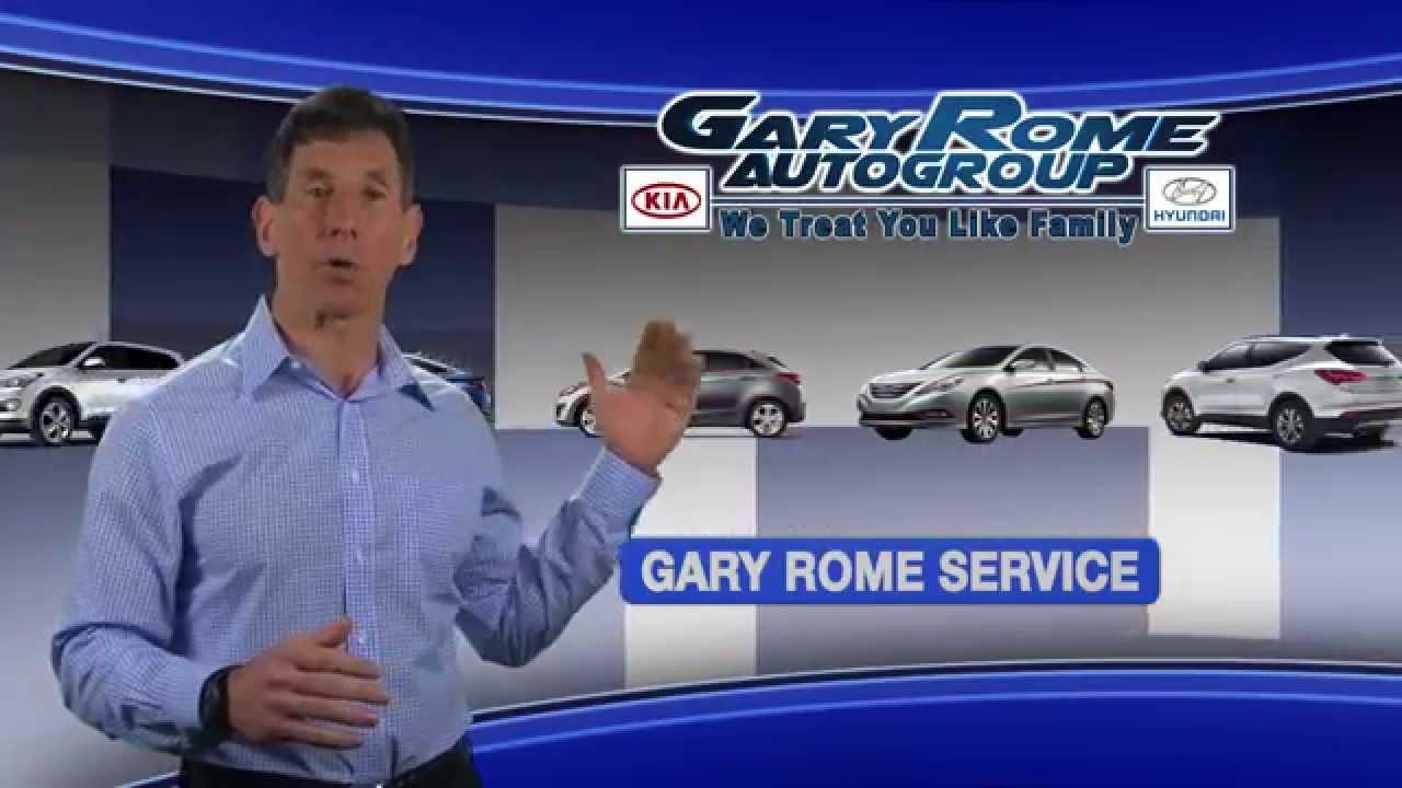 Gary Rome Hyundai Service Experience - YouTube
