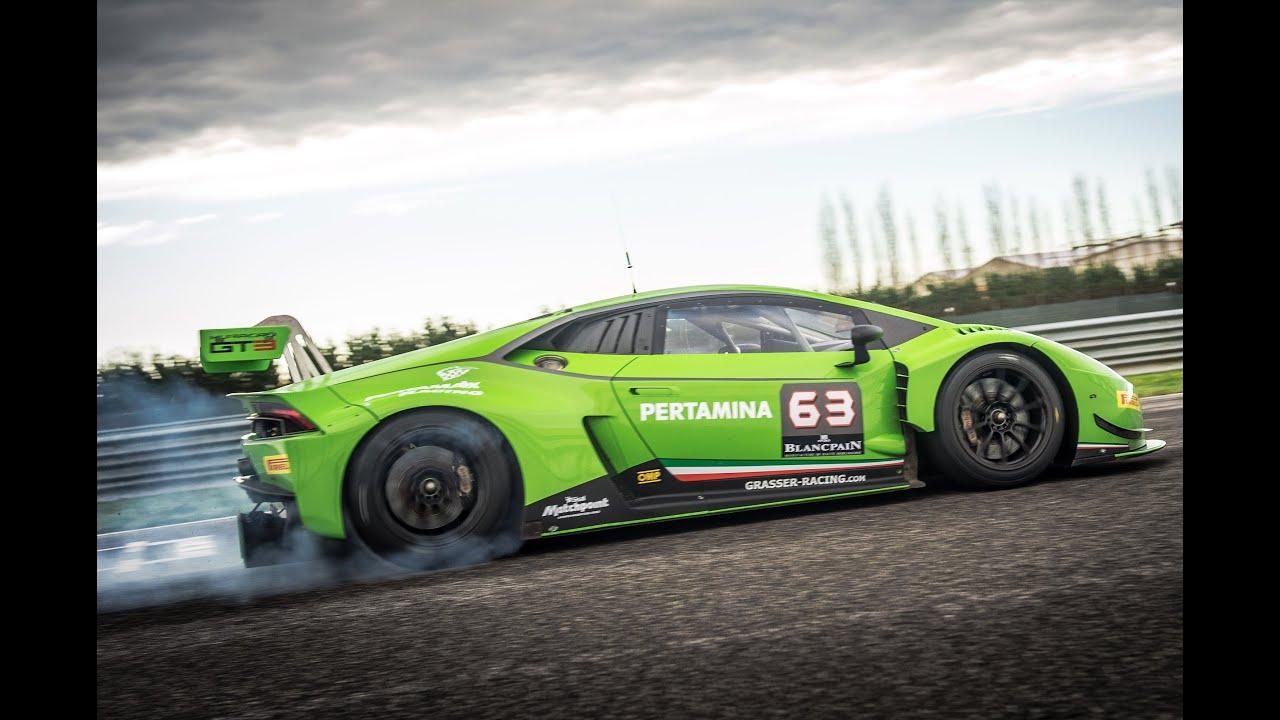 Car Cockpit Wallpaper Lamborghini Huracan Gt3 Driven Flat Out On Track