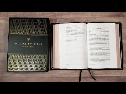 ESV Preaching Bible Verse by Verse Edition