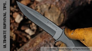 Best Barrel Handle Survival Knife? + Make Your Own Mini Survival Kit - Schrade Schf2sm Review