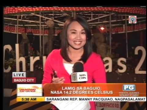 Baguio temperature plunges to 13.6C