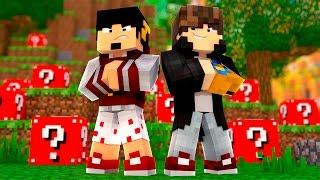 Minecraft: SKY WARS LUCKY BLOCK VERMELHA ‹ AMENIC ›