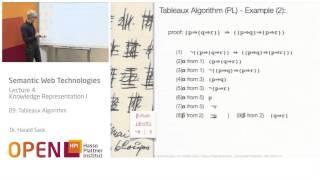 04 - 09 Tableaux Algorithm