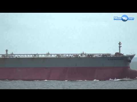 MERCHANT NAVY KUMANOGAWA CRUDE OIL TANKER SHIP VIDEO