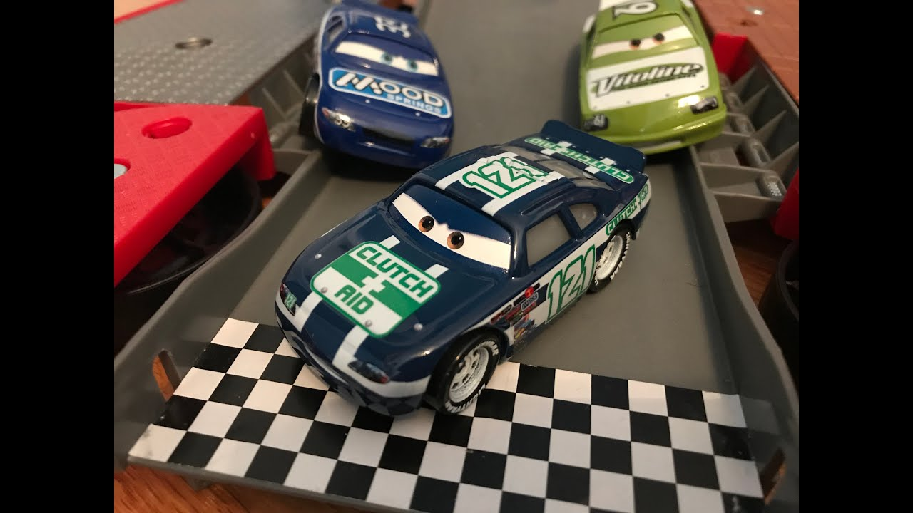 Disney Cars Blue Desert Kevin Shiftright (Clutch Aid #121) Review