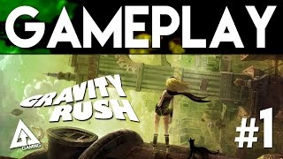 Gravity Rush Remastered Gameplay Part 1 | Gravity Rush PS4
