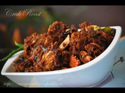 Crab Roast ഞണ ട പ രളൻ Njandu Roast Thani Nadan Crab Roast Recipeno 173 Youtube