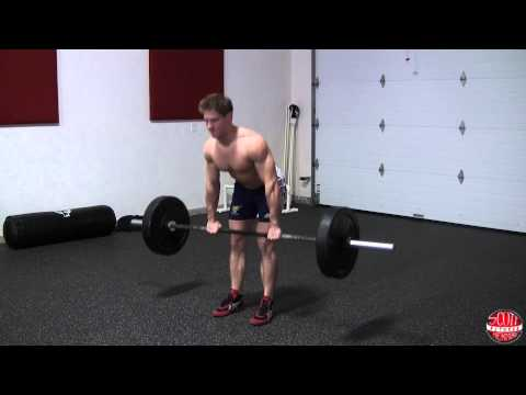How To: Barbell Stiff-Leg Deadlift