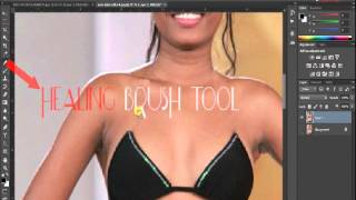 Repeat youtube video How to remove clothes  in photoshop (swahili)