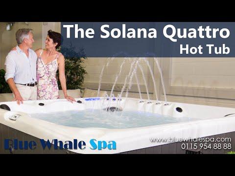 The Solana Quattro 6 Seater Hot Tub Youtube