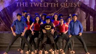superheroes in iit   chillar   annual insync s dance show 2017