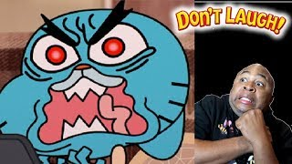 Try Not To Laugh Challenge Best Of The Amazing World Of Gumball #31