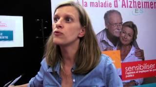 Salon des seniors 2014. Interview France Alzheimer