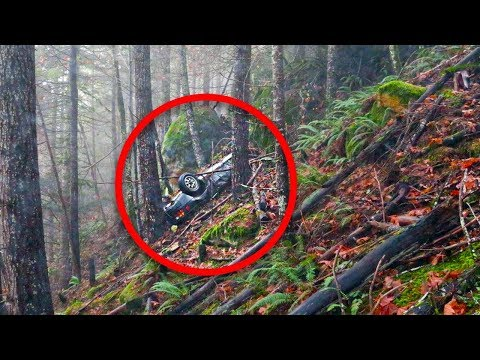 Cops Find Stolen Car In Woods – But See Something More Horrifying Nearby