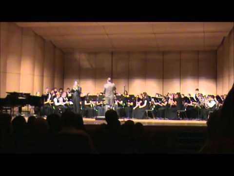Highland High School Wind Ensemble playing Carnival of Venice featuring Allen Vizzutti
