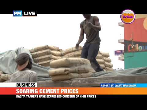 #PMLIVE:Kampala traders want gov't to intervene in the soaring cement prices